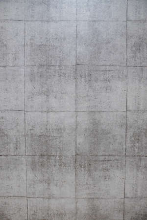 Wide gray brick wall background texture. Home and office design backdrop. Archivio Fotografico