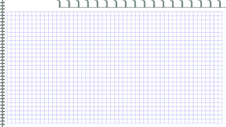 jotter: Page of notepad. Open page. Binding metal spiral. Book in a cage. A template for the website