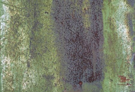 Rust corrosion sheet metal. Old textured piece of iron for background. Stock Photo