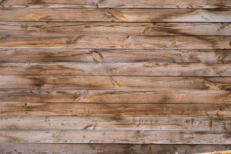 Old wood texture. Horizontal wood texture background.