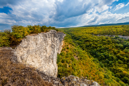 cragsman: The valley is between the mountains in the Crimea.
