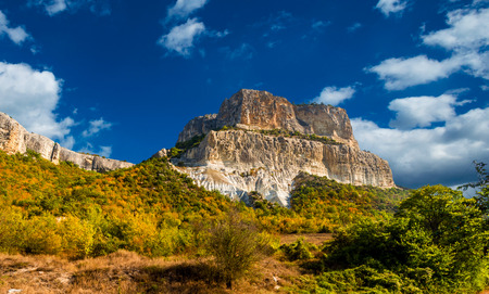 cragsman: The single rock is in the Crimean valley.
