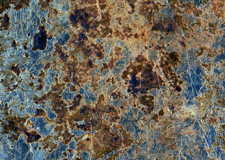The surface of old cooking pan, closeup. Stock Photo - 4518765
