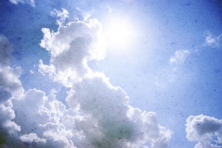 Retro image of cloudy sky Stock Photo - 17979809