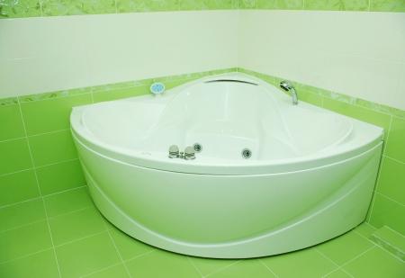 luxurious modern design of bathroom photo