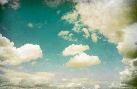Retro image of cloudy sky Stock Photo - 18054131