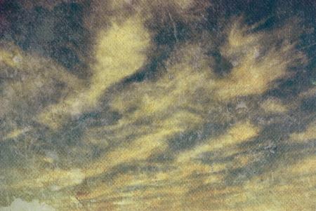 retro image of cloudy sky Stock Photo - 18074743