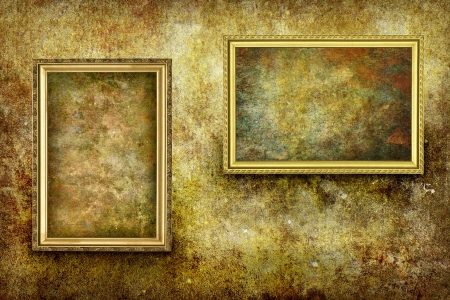 Grunge Frame Background Stock Photo - 18075070