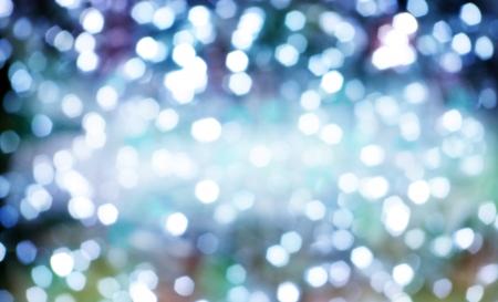 Diamond shapes reflexes like shining lights photo