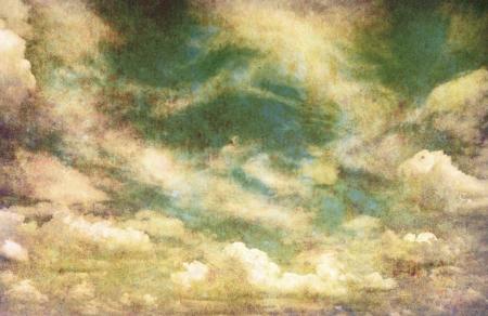 retro image of cloudy sky Stock Photo - 18105764