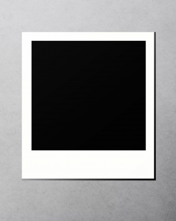 Blank instant print picture
