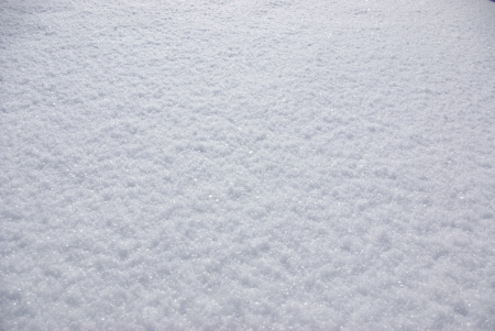 Photo of bright snow background  photo