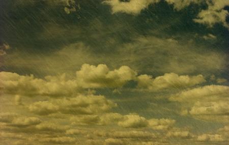 retro image of cloudy sky Stock Photo - 19158927