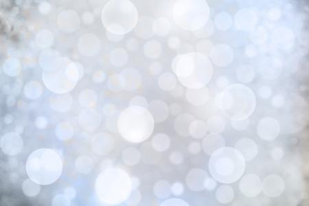 achtergrond met bokeh defocused blauwe lichten