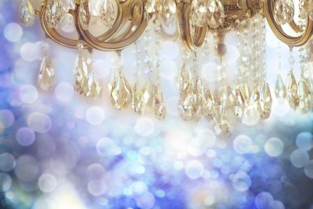 crystal chandelier: Vintage crystal chandelier details