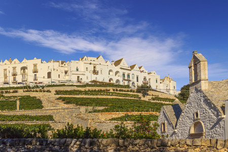The most beautifull Old Towns in Italy: Locorotondo, laid on the top of a hill, has one of the most impressive skylines of Apulia.