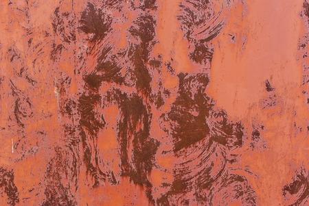 rustiness: The abstract red background texture of old rusty wall