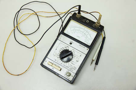Soviet multimeter. Designed for measuring constant and variable current and voltage, resistance.