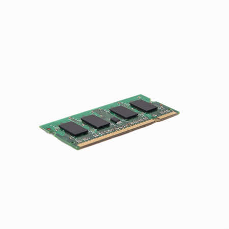 Laptop RAM isolated on a white background