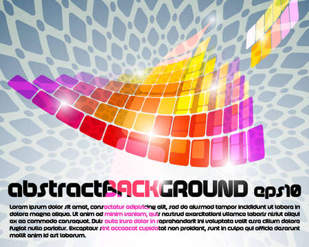 abstract background flayer
