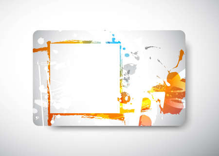 Gift Card - size 3 38 x 2 18  (86 x 54 mm) Illustration
