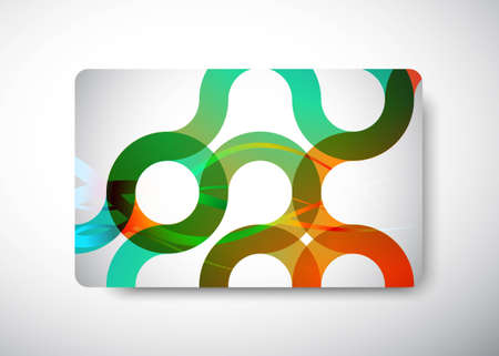 Gift Card - size 3 3/8 Stock Vector - 9098196