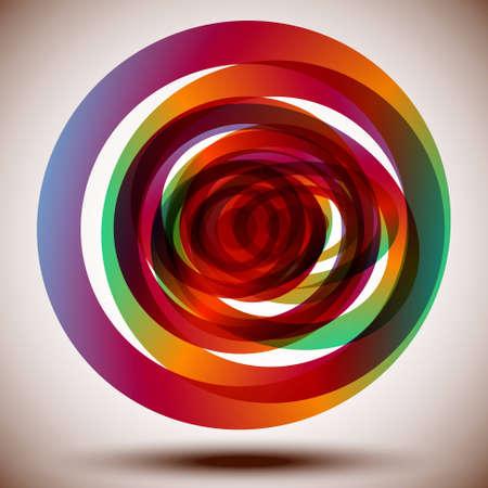 Colorful Circles Illustration