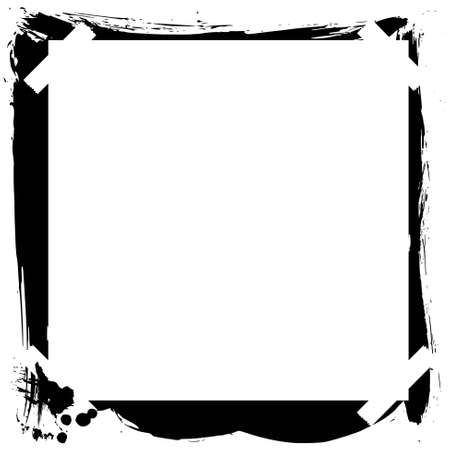 painted frame with copy space