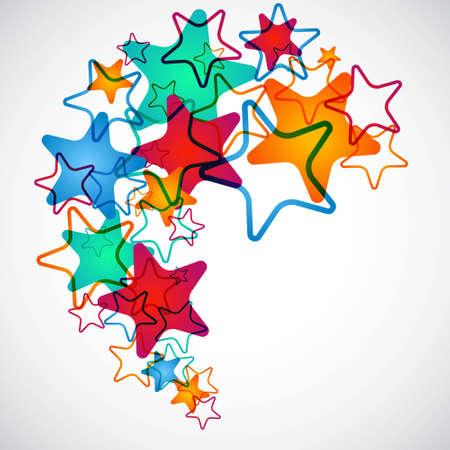 Shooting Stars Illustration