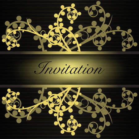 Invitation Stock Vector - 10196156