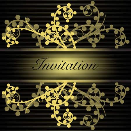 Invitation Stock Vector - 10196156