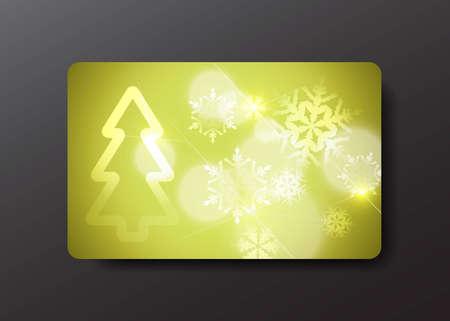 christmas gift card Stock Vector - 10923069