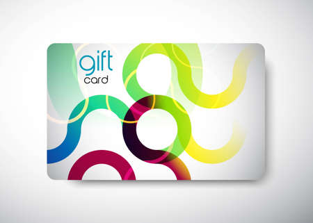 """Gift Card - size 3 3/8"""" x 2 1/8""""  (86 x 54 mm) Illustration"""