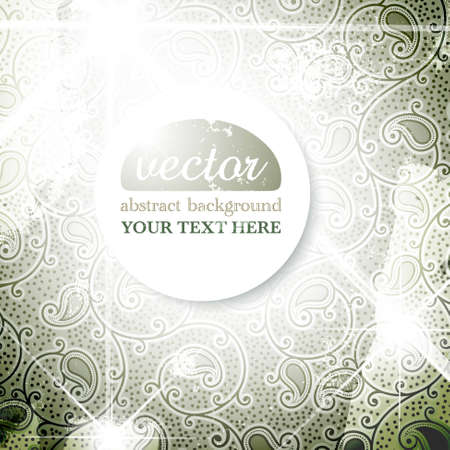 Sparkly Vintage Background Stock Vector - 13019790