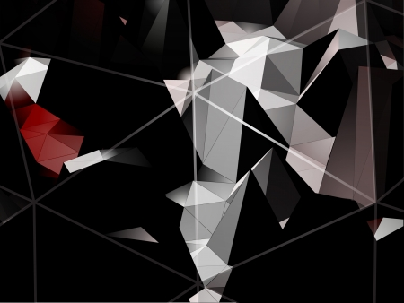 pinnacle: Triangles vector background