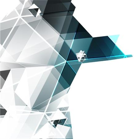 pinnacle: Trójkąty tło wektor