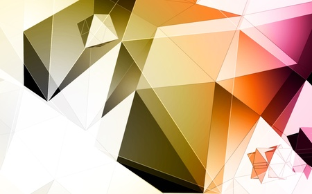 pinnacle: Polygons vector background