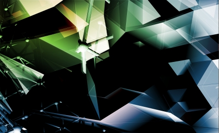 vertex: Polygonal Abstract Background