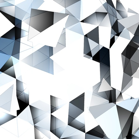 pinnacle: Abstract Triangular Background Illustration