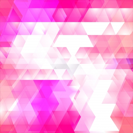 Triangles mosaic vector background Illustration
