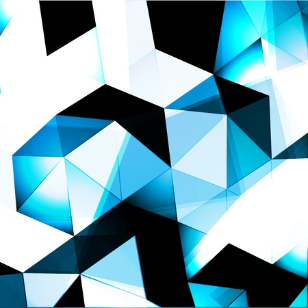 pinnacle: Triangles Abstract Background