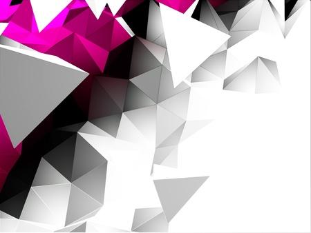 Abstract Triangular Background Illustration
