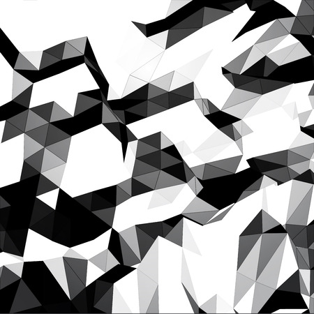 grayscale: Grayscale triangular background