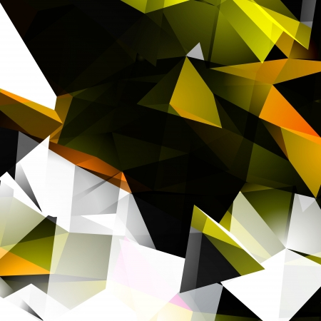 pinnacle: Abstract Autumn Colors Triangular Background Illustration
