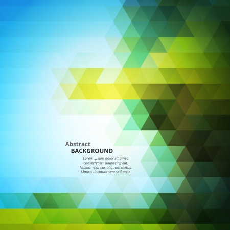 pyramid peak: Abstract Triangular Mosaic Background