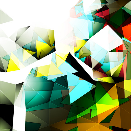 vertex: Colorful Abstract Background