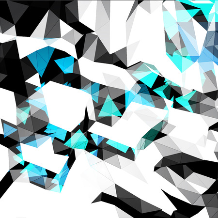 Abstract Background from Polygons
