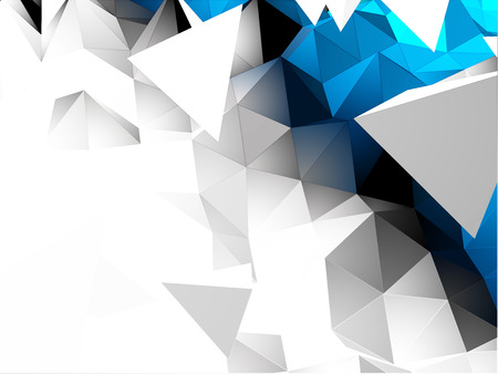 pinnacle: Streszczenie 3D tło Trójkątne