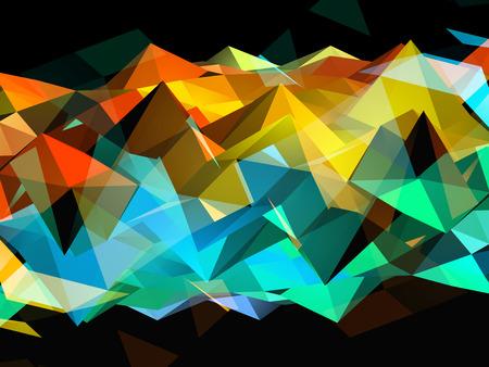 pinnacle: Rainbow Triangles