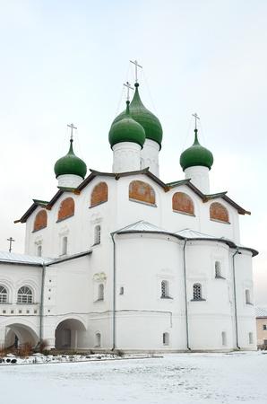 Nicholas-Vyazhischsky Monastery in Veliky Novgorod, Russia Stock Photo - 12085731